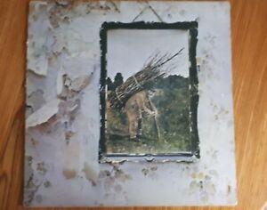 vinyl records Led Zeppelin IV Original 1971 Pressing