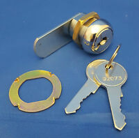 Asec AS6610 Keyed to Differ 5 Pin Nut Fix Camlock Chrome Plated 32mm