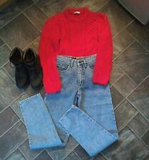 "90s vintage high waist stonewash mom jeans.UK 6/8. L32"". Grunge. Pepe. BNWT"