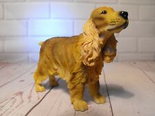COCKER SPANIEL FIGURE GIFT Brown Cocker Dog Figure Figurine Ornament Present New