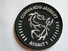 ECUSSON COMMANDOS MARINE COMMANDO JAUBERT ASSAUT 1 ETAT EXCELLENT VELCROS