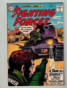 DC GUNNER & SARGE OUR FIGHTING FORCES #57