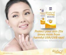 New Gluta C Skin Whitening Facial White Face Day Cream Lightening SPF 25