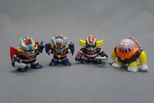 Go Nagai! Set of keychain Grendizer Mazinger Mazinger Z & Boss Borot 1996 JP B80