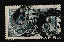 IRELAND, Scott #14: 10/- Seahorse, Used, 1922 Dollard Overprint in Black