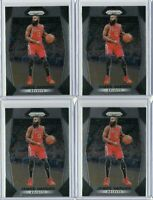 4 James Harden 2017-18 Panini Prizm #251 Lot Base Card Houston Rockets NBA