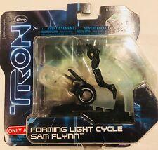 NOS 2010 Disney TRON Legacy 1/50 Diecast Hero Pack Sam's Light Cycle Kevin Flynn
