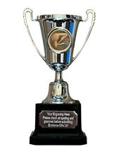 Hairdressing Barbers Silver Moment Cup Award Trophy (G) ENGRAVED FREE