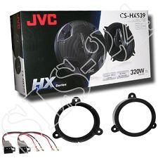 JVC 3-Wege Lautsprecher Renault Megane III Z Lautsprecherringe + LSP Adapter Set