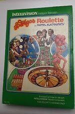 Cartouche Jeu Video Vintage MATTEL 1979 Las Vegas Intellevision Console Games