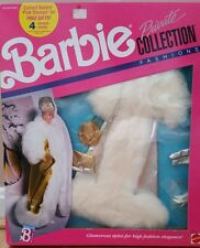 Vintage Barbie Private Collection Fashions Doll Fur Coat Mattel #4961