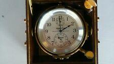 Ww Ii Hamilton Ship Gimbel-Mounted Chronometer, Model 21
