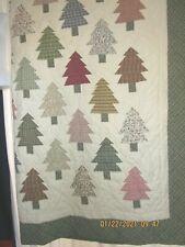 New ListingThe Company Store queen quilt tree theme Euc
