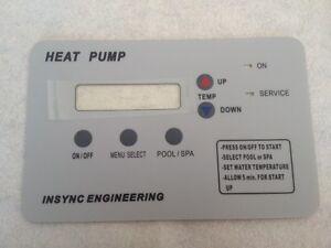 Compare Pentair Ultra Temp Control Board Membrane 472734 473425 473693 473711