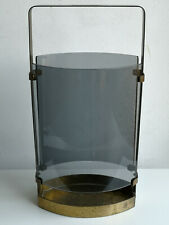 Fontana Arte: Umbrella Stand Max Ingrand vintage design smoked glass brass Italy
