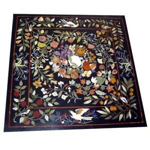 """30"""" Marble Table Top Pietra Dura Handmade Home & Garden"""