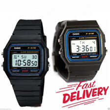 NEW ORIGINAL DIGITAL CASIO F-91W ALARM CHRONOGRAPH CLASSIC RETRO WATCH UK