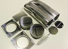 SHOT GUN SCOOP FINNED ALLOY AIR CLEANER & FILTER, SINGLE/ DUAL CARB, MUSCLE CAR
