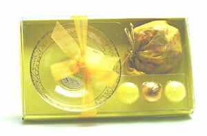 Vanilla Scented Floating Candles & Pot Pourri Gift Set -  NEW