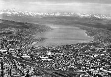 Schöne Ansichtskarte Zürich aus dem Jahr 1952 m. Stempel Alliierte Zensurstelle