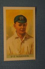 1912 Reeves Chocolates Cricket Prints by County Print 1993 - P.F. Warner.