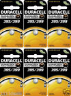 6 Pcs Duracell 395 399 Watch Electronic Silver Oxide Battery