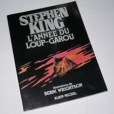 STEPHEN KING - CYCLE OF THE WEREWOLF / L'ANNEE DU LOUP-GAROU rare French edition