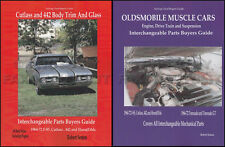 1964-1972 442 and Cutlass Parts ID and Interchange Manual Set Olds Oldsmobile
