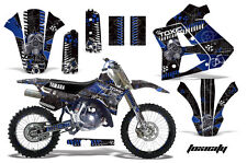 YAMAHA WR 250Z Graphic Kit AMR Racing # Plates Decal Sticker Part 91-93 TXBL