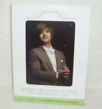 SS501 Kim Hyun Joong Special Fanmeeting Promo Folder (ClearFile)
