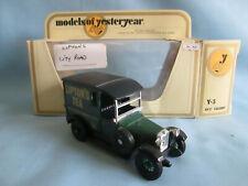 "Matchbox Yesteryear Y5-4 1927 Talbot Van ""Lipton's Tea City Road"""