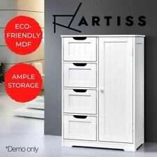 Bathroom Storage Cabinet Chest of Drawers Laundry Toilet Cupboard Tallboy