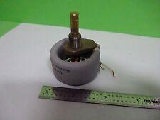 Microscopio Parte Zeiss Alemania Reóstato Luz Illuminator Control como Papelera