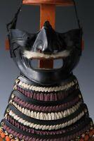 Beautiful Vintage Japanese Samurai Menpo -Wearable- Tsushima