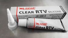 Silicone Sealant clear RTV  Adhesive glue High Temp/Heat 85g (3 Oz)