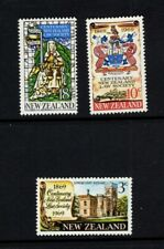 New Zealand 1969 Law Supreme Court Coat of Arms  MNH SG 894-896 Sc 422-424