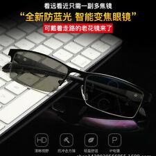 Transition/Photochromic Anti-blue reading glasses smart progressive multi-focal