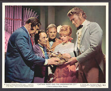 Lobby Card~ CAPTAIN NEMO & THE UNDERWATER CITY ~Nanette Newman ~Chuck Connors