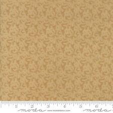 "Moda Wide Backing Fabric 108"" Fresh Cut Flowers Tan Quilt 100% Cotton"