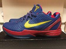 Nike Zoom Kobe VI 6 Barcelona Home FC barca Sz 11 429659-402 Euro Release Grinch
