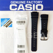 CASIO 10186132 GENUINE FACTORY REPLACEMENT G-SHOCK BLACK BAND FOR: GW-5600J-1V