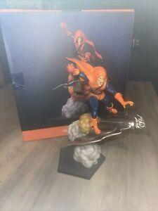 Iron Studios Spider-Man Hobgoblin Statue Damaged Box Statue Good
