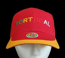 Portugal Flag Embroidery Embroidered Adjustable Hat Baseball Cap Casquettes