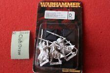 Games Workshop Warhammer Wood Elf Eternal Guard Elves 3 Metal Figures GW Slyvan