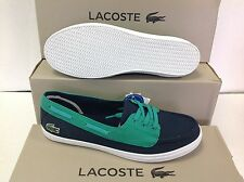 Lacoste Ziane Deck Women's Sneakers Plimsolls Lace up Size UK 4 EU 37