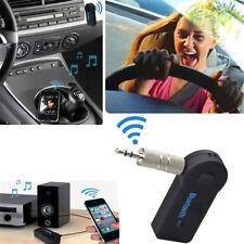 3.5mm AUTO AUX Bluetooth Wireless Stereo Audio Musica Ricevitore Adattatore per iPhon