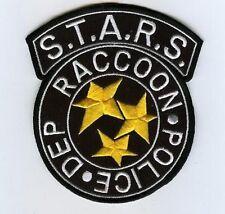 FANCY DRESS HALLOWEEN COSTUME PROP Resident Raccoon City Police Black S.T.A.R.S.