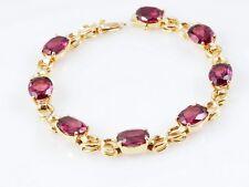 H. Stern Armband Rhodolite 750 Gold 18 Karat Original Rechnungskopie