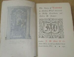 The Story of Verona by Alethea Wiel 1907 Mediaeval Towns Series