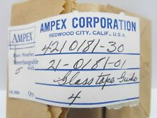 (1) Ampex Glass Tape Head Rod Guide for Tape Recorder 4210181-30 (VINTAGE - NOS)